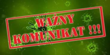 Oświadczenie – KoronaVirus – AKTUALIZACJA 28-03-2020