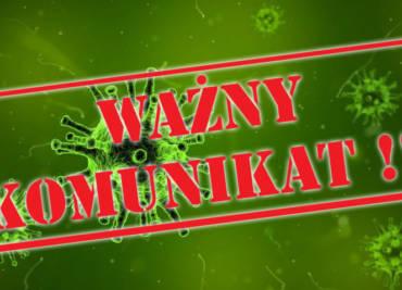 Oświadczenie – KoronaVirus – AKTUALIZACJA 29-05-2020